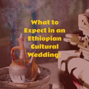 Ethiopian wedding ceremony - leserge